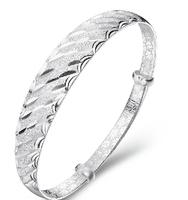 s999 thousands of fine silver bracelet, sterling silver bracelet SSB0048