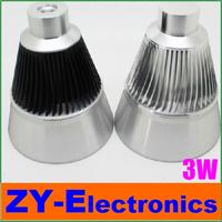 2pc/lot Freeshipping 3w led lamp spotlights mirror light lamp holder shell diyled clip lights lamp holder kit