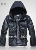 Free Shipping 2013winter male Fur Collar Man's Down Coat Winter Warm Down Jacket For Men Outwear Down,258