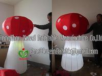 1.5m Inflatable mushroom with lighting