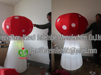 1.5m Inflatable mushroom with lighting