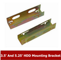 "Big discount  NEW  3.5"" And 5.25"" Hard Disk Drive HDD Mounting Bracket  Free Shipping"