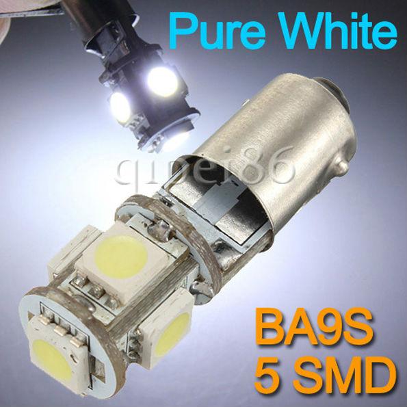 Источник света для авто 10 T11 BA9S H6W 5 SMD 5050 Canbus 12V источник света для авто 10pcs lot g4 9 smd 5050 12v