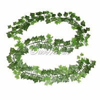 New 2014 1 Piece 87 Inches To 90 Inches Artificial Silk Ivy Garlands With Star-shade leaves For Festive & Party and Wedding