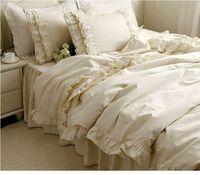4pcs/6pcs luxury bedding set king/queen/twin size romantic bedspread unique duvet cover Korean princess bedding