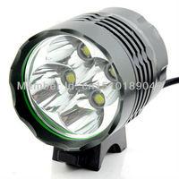 5PC/LOT 5200LM 4x CREE XML T6 LED Bicycle Light Bike Lamp HeadLamp Headlight Flashlight Torch Lantern + 8800mAh Battery Pack NEW