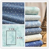 Wholesale 45cm*53cm 6 Design/lot 3lots Mixed Cotton Poplin Quilting Fabric Sets Patchwork Fabric 'Leopard Show' - fcz028