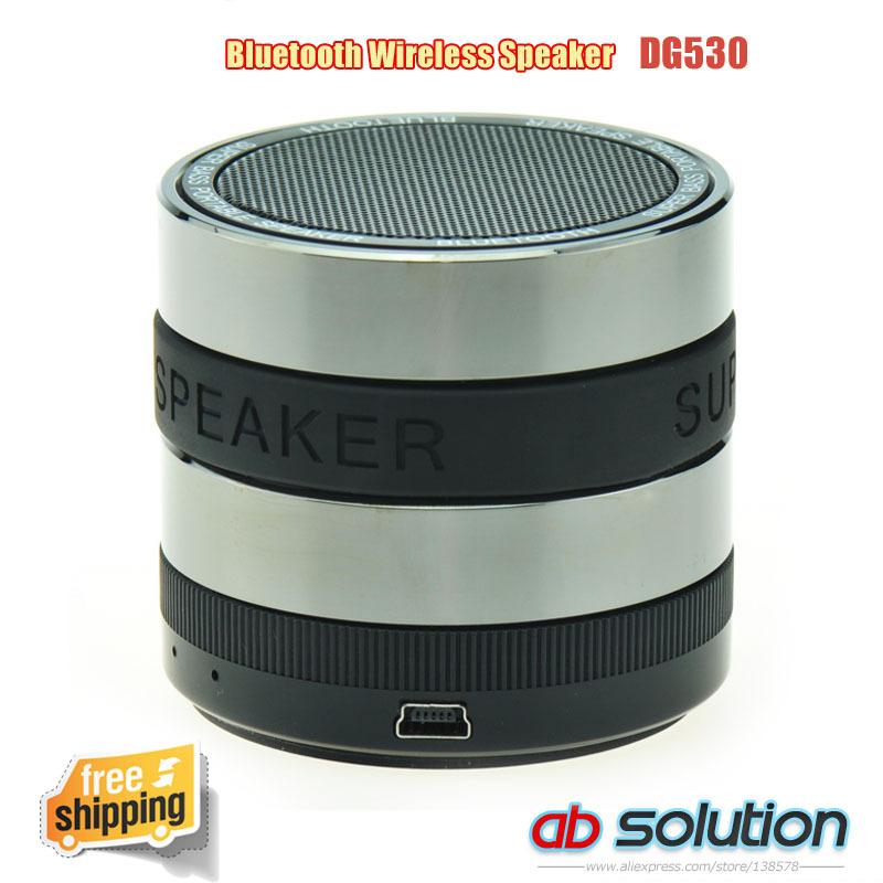 Free shipping wireless handfree SLR mini bluetooth speaker support FM/TF Card(China (Mainland))