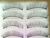 Hot-selling ! handmade false eyelashes 217 cotton natural nude makeup box 10 cross