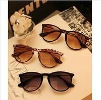 2014 New Fashion Men And Women Retro Round Metal Feet Sunglasses Yurt Wholesale Free Shipping