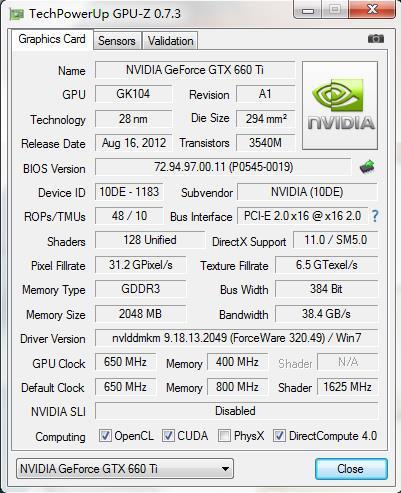 Характеристики видеокарты GEFORCE GTX 660 Ti текущий анализ рынка Выбрать лучшую