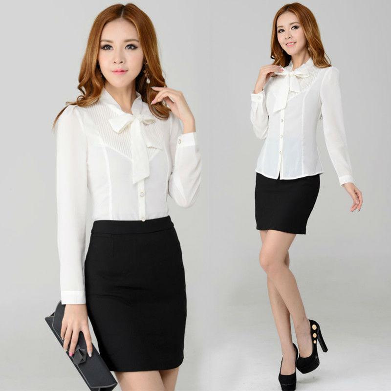 Creative Formal Business Women Suit Blazer Jacketskirtvest Trousers Blouse