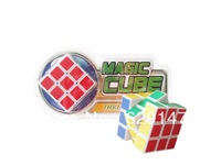 christmas gifts!Free shipping Elementary magic cube /speed enclosed turning puzzle cube 3104