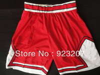 Wholesale 2013 Cheap Mens Chicago #1 Derrick Red/Green/White/Black Basketball Sports Shorts,Adult Popular Athletic Pants.M-XXL