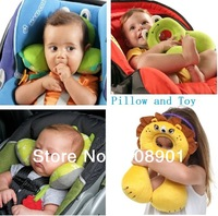 Free Shipping, Kids U-Shape Neck /Head Pillow for Baby Carriage Stroller Car Seat (Aged 1-4) /Children's Stroller Pillow