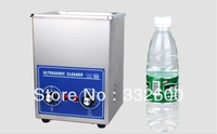 SUS 304 Stainless steel ultrasonic cleaner 10L machanical manipulator timer with basket for jewelry, glasses, watch , car parts