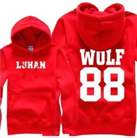 KPOP EXO LUHAN KRIS SEHUN WOLF88Hit Song Clothes Sweater
