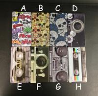 Retro Camer Skeleton Cassette CD Tape Plastic Hard Case for Sony Xperia Z L36h C6603, Protective Back Cover
