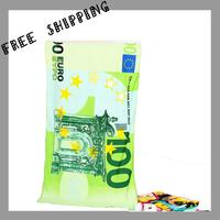 [BATH TOWEL ] 70*140 cm 310 g100 Euro Beach Towel Novelty Households Microfiber Fabric Fine Printing Children's Bath Towel