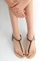 sapatos Sandalias flip-flop brief casual t belt female pinch flat comfortable women's Femininas Rasteirinha Rasteira Chatitas