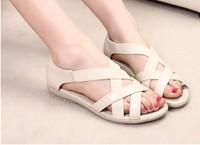 sapatos Sandalias maternity female sandals elastic outsole mother simple shoes open toe Femininas Rasteirinha Rasteira Chatitas