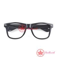 [Hot] Fashion Black Frame Geek Elegant Eyeglasses Glasses No Lens 02 wholesale