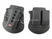 FOB Evolution GLOCK 17/19 RH Pistol & Magazine Paddle Holster free shipping