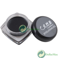 [High Quality] Black Waterproof Eye Liner Eyeliner Gel Makeup Cosmetic + Brush wholesale