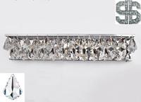Sconce Light Wall Light Crystal K9 LED Modern Bathroom Mirror Front Light Fixture Bedroom Lamp Bathroom Lighting Fixtures