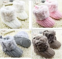 6pairs/lot,baby boots,fashion baby boots,very soft and warm,4 colors for choose,top quality brand shoes