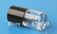 100pcs/lot 10ml Empty Nail Polish Bottle Mini Nail Glass Bottle Transparent Nail Enamel Bottle with Black cap