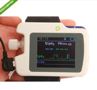 Respiration Sleep Monitor SpO2 Pulse Rate And Nose Air Flow Measure