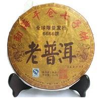 Promotion 2006 year Old 357g Ripe puer Tea China Yunnan MengHai Puerh Tea pu er the Chinese Health pu erh Tea Puer  wholesale