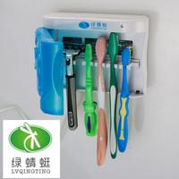 Cute UV Toothbrush Sterilizer & Shaver Holder UV Toothbrush sanitizer Family Set   254nms cold cathode UV bulb FREESHIPPING