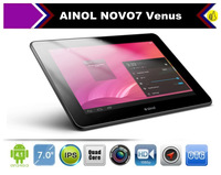 7 inch IPS Ainol Novo7 Venus Quad core ATM7029 1.5GHZ Android 4.1 tablet PC Dual Camera 1280*800 Capacitive Screen 1GB 16GB