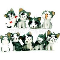 Free Shipping/New kawaii mini hello kitty DOLL, Cell mobile phone Pendant / Novelty Toy Key BAG pendants