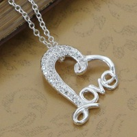 P313 fashion jewelry chains necklace 925 silver pendant