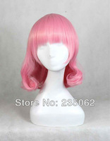 Free shipping, 2013 new Wig, Color wig , Kano Anime COSPLAY wig,  high temperature wire, East Project West Temple Yuyuko