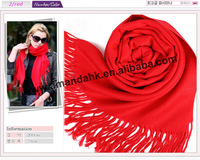 220pcs/lot most popular Women's Pashmina Solid Color Scarf Wrap Shawl Scarves, winter cashmere imitation fashion scarf.