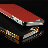 Luxury Phone Cover Accessory Ultra Slim Platinum Design Hard Case For iPhone 4S/4,1Piece Free Shipping