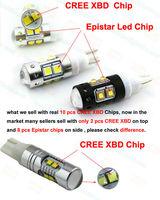 10pcs/lot  SUPER BRIGHTNESS 50W CREE XBD HIGH POWER,194 LED CAR LIGHT,T10 LED BULB,W5W LED