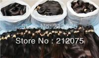"12""-26""inches 500grams/lot MIX length Brazilian Virgin straight human hair* Bulk hair* Remy Human Hair*DHL Free Shipping"