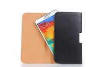 New Arrival Mobile Phone Leather Bag Belt Clip Holster Pouch Cover Case for Samsung Galaxy Note 3 N9000, Free Shipping 200pcs