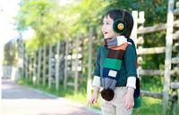 Fashion Children Winter Plush Earmuffs Soft Ear Warmer Kids Ear Cover Smile Face Earlap  Cartoon Earshield Free shipping