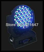Free shipping 6pcs/lot professional stage lighting 108*3w led moving head wash light high brightness led moving head wash light