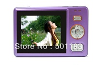 Fashion case digital camera with 2.4 inch display lithium battery