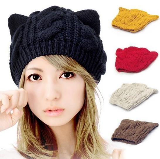... gorros gorras de invierno de punto en Gorros de Lana de Moda y