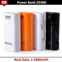 Free Shipping 5400MAH power bank, portable mobile power bank, external battery STD D5400, backup battery, portable charger