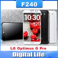 F240 Unlocked Original LG Optimus G Pro F240L F240s F240k E980 phone Quad-core 2G RAM+ 32G ROM 1.7 GHz 13MP Camera GPS WIFI 4G