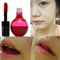 Free Shipping Mini Magic Cherry Red Lip Tint Stain Lip Gloss Nature And Long Lasting